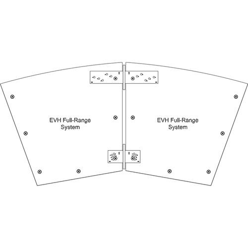Electro-Voice HRK-3W Horizontal Rigging Kit for EVH Series (White)