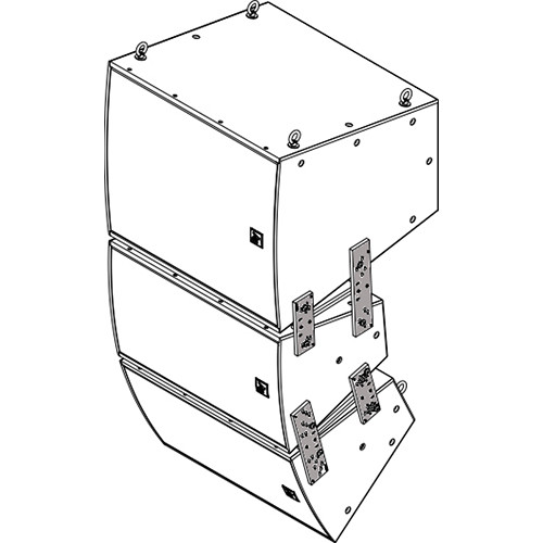 Electro-Voice VRK-3B Vertical Rigging Kit for EVH Series (Black)