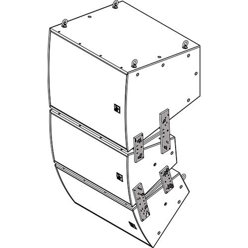 Electro-Voice VRK-1B Vertical Rigging Kit for EVF Series (Black)