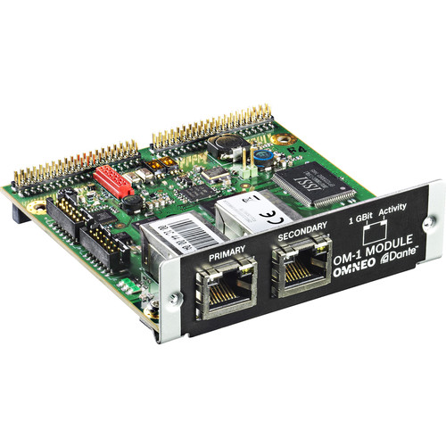Electro-Voice OM-1 OMNEO/DANTE Module for N8000 NetMax System Controller