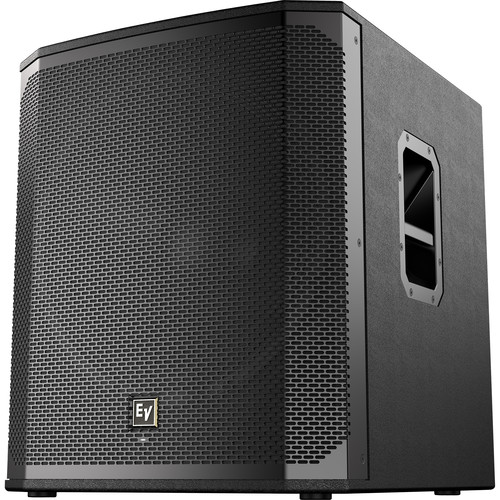 "Electro-Voice ELX200-18SP-US 18"" 1200W Powered Subwoofer (Black, Single)"