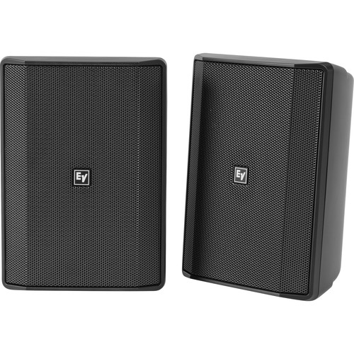 """Electro-Voice EVID-S5.2X 5.25"""" 2-Way 70/100V IP65-Rated Commercial Loudspeaker (Pair, Black)"""