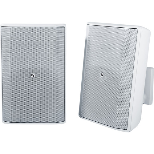"Electro-Voice EVID-S8.2 8"" 2-Way 8 Ohms Commercial Loudspeaker (Pair, White)"