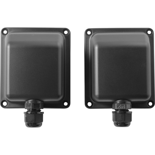 """Electro-Voice Weather Cover For 5"""", 8"""" (Black) - Gland Nut Cover In Case (Pair)"""