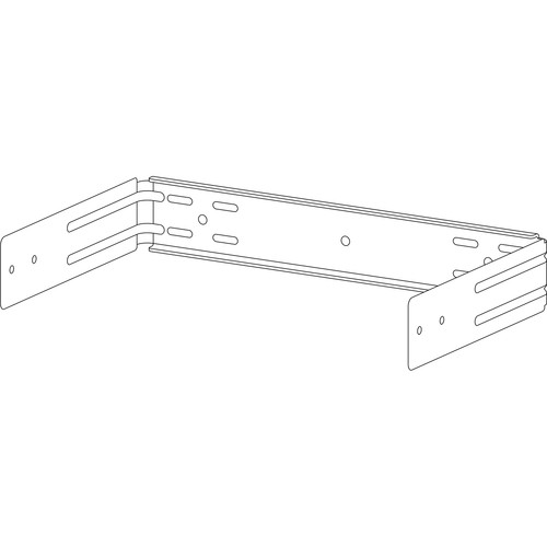 Electro-Voice UB-10DW U-Bracket for EVID-S10.1 Subwoofer (White)