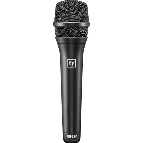 Electro-Voice RE420 Handheld Cardioid Condenser Vocal Microphone