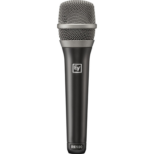 Electro-Voice RE520 Handheld Supercardioid Condenser Vocal Microphone