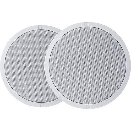 """Electro-Voice EVID-C4.2LP - 4"""" Low-Profile Ceiling Speaker (Pair, White)"""