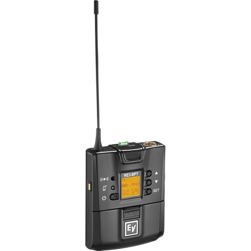 Electro-Voice RE3-BPT-6M Bodypack Transmitter (653 to 663 MHz)