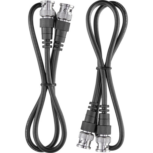 Electro-Voice RE3-ACC-CXU2 50-Ohm Low-Loss BNC Coaxial Coax Cables (2', Pair)