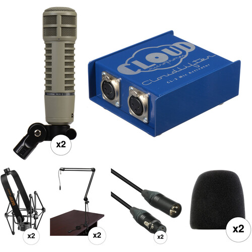 Electro-Voice RE20 2-Person Broadcaster Kit