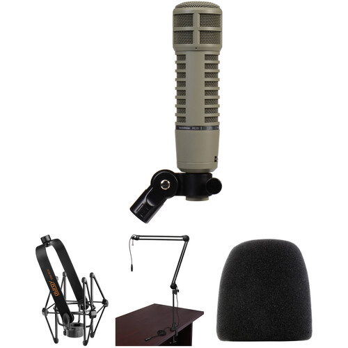 Electro-Voice RE20 Microphone and Broadcaster Kit