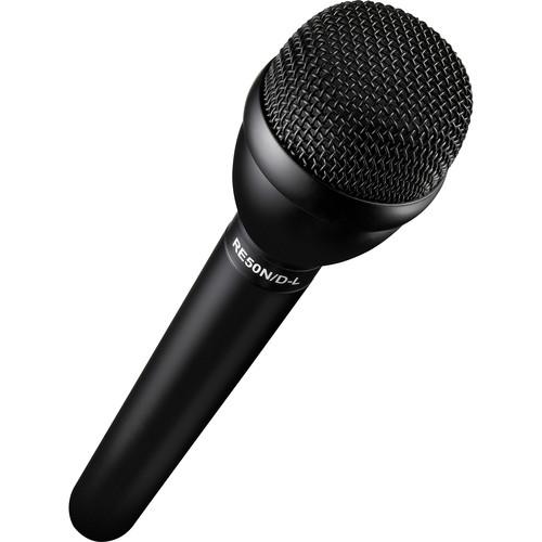 Electro-Voice RE50N/D-L Handheld Interview Mic with N/DYM Capsule & Rycote Mic Flag Kit (Black)