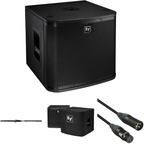 "Electro-Voice XA1-Sub 12"" Subwoofer Kit with Speaker Pole, Cable, and Cover"