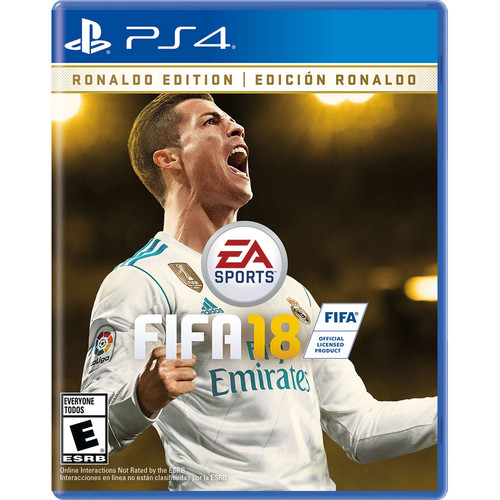 Electronic Arts FIFA 18 Ronaldo Edition (PS4)