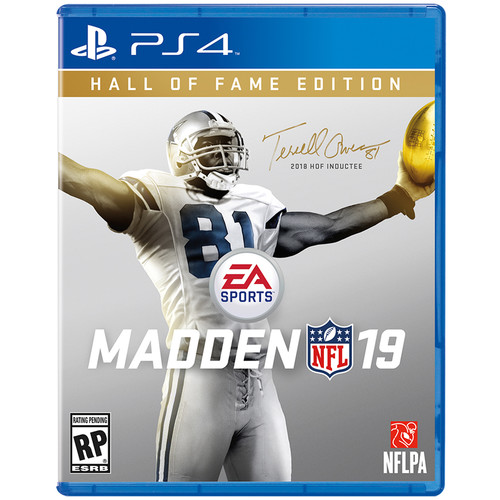 Electronic Arts Madden NFL 19 (PlayStation 4, Hall of Fame Edition)