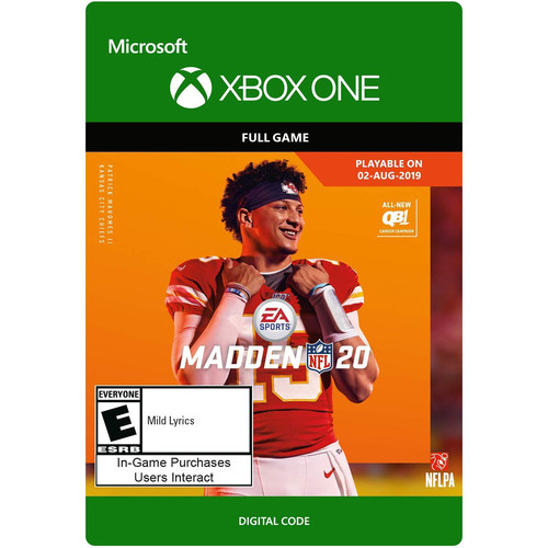 Electronic Arts Madden NFL 20 (Download, Xbox One)