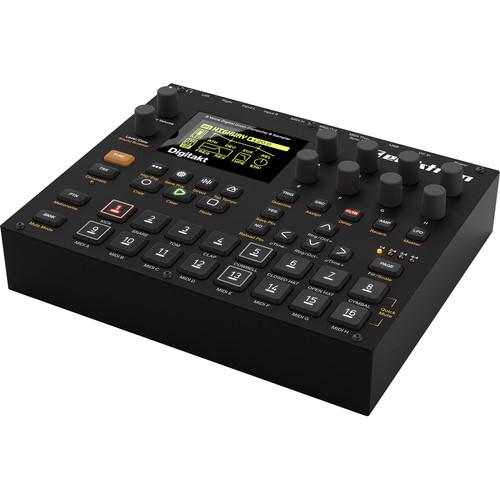 elektron digitakt eight voice digital drum machine and digitakt. Black Bedroom Furniture Sets. Home Design Ideas