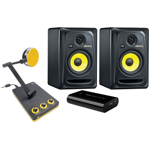 Elgato Systems Game Capture HD with Neat Microphone & KRK Speaker Kit
