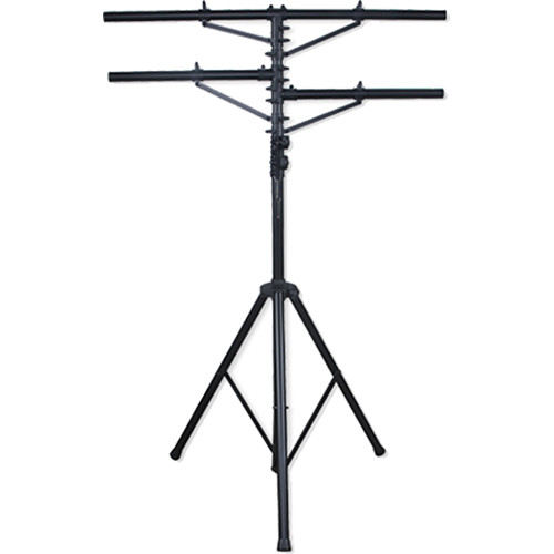 Eliminator Lighting Tri-33 Tripod Stand Two T-bars (12')