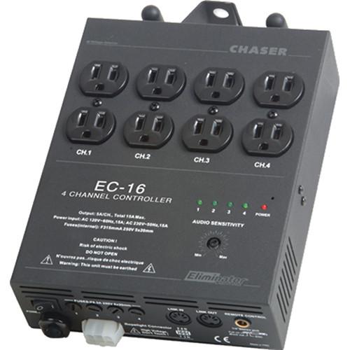 Eliminator Lighting EC-16 4-Channel Light Controller (600W per Channel)