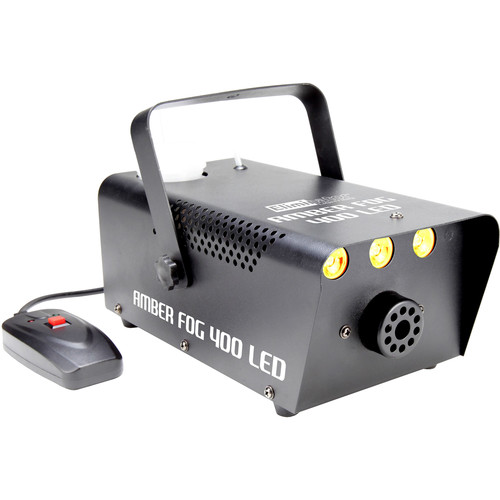 Eliminator Lighting Amber Fog 400 LED 400W Fog Machine with Amber LEDs