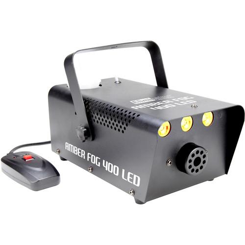 Eliminator Lighting Amber Fog 400 LED 400W Fog Machine with Amber LEDs