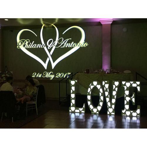 Eliminator Lighting Decor LOVE Letters