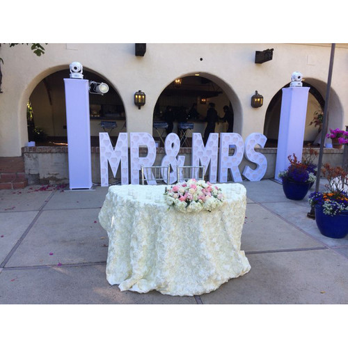 Eliminator Lighting Decor MR&MRS Letters