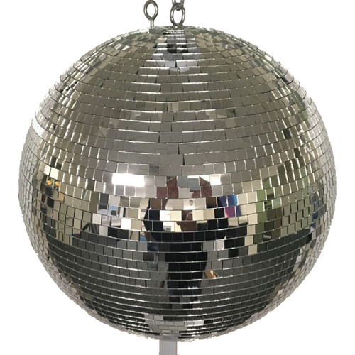 "Eliminator Lighting 20"" Mirror Ball with Motor Ring"