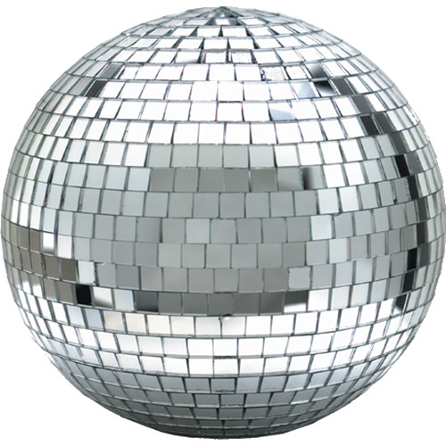"Eliminator Lighting 8"" Mirror Ball with Motor Ring"