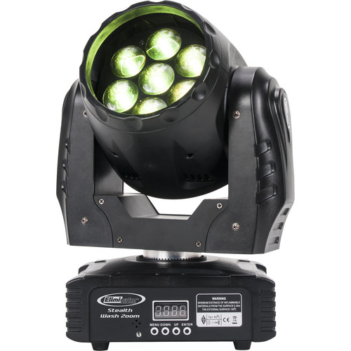 Eliminator Lighting Stealth Wash Zoom LED Moving Head Light
