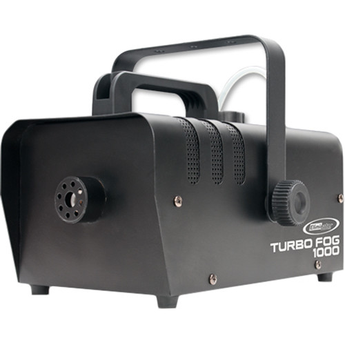 Eliminator Lighting Turbo Fog 1000 Fogger with Wireless & Wired Remote Controllers