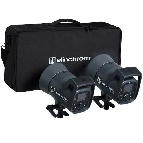 Elinchrom ELC 125 Dual Studio Monolight Kit