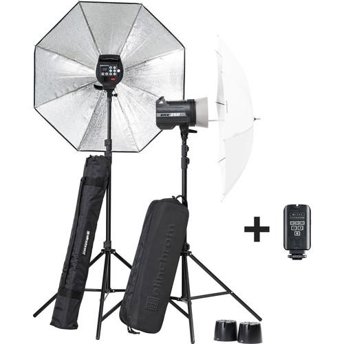 Elinchrom BRX 250/250 Umbrella To Go Kit