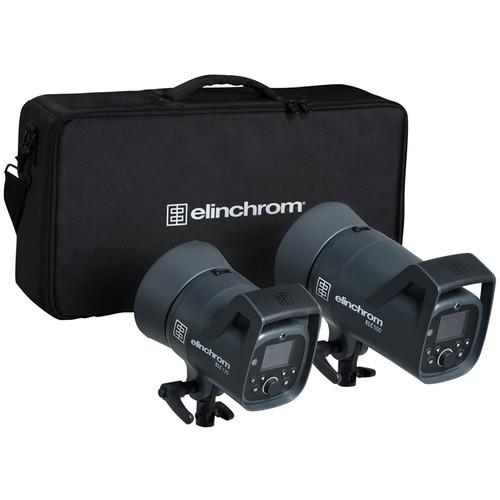 Elinchrom ELC 125/500 Dual Studio Monolight Kit
