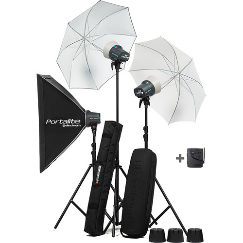 elinchrom d lite rx one 3 head kit el20845 3 b h photo video. Black Bedroom Furniture Sets. Home Design Ideas