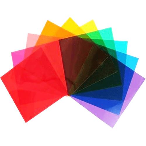"""Elinchrom Color Filter Set of 10 (4.7 x 4.7"""")"""