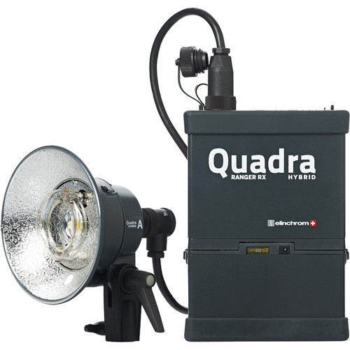 Elinchrom Ranger Quadra Hybrid Standard Set with Lithium-Ion Battery