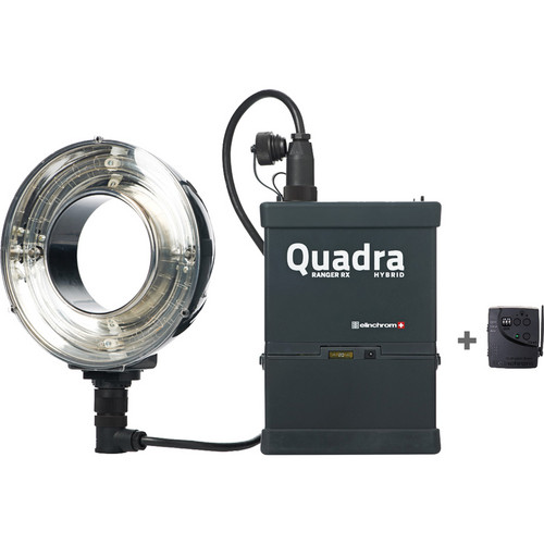 Elinchrom Quadra Hybrid RX Ringflash Eco To Go Set with Li-Ion Battery