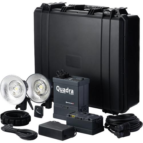 Elinchrom Ranger Quadra Hybrid RX Lead-Gel Battery 2-Light Pro A Kit