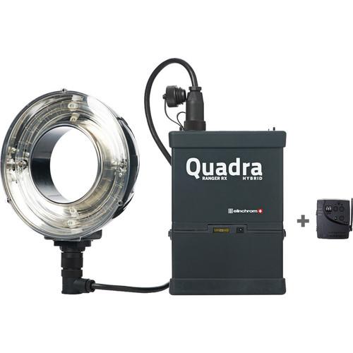 Elinchrom Quadra Hybrid RX Ringflash Eco To Go Set with Lead-Gel Battery