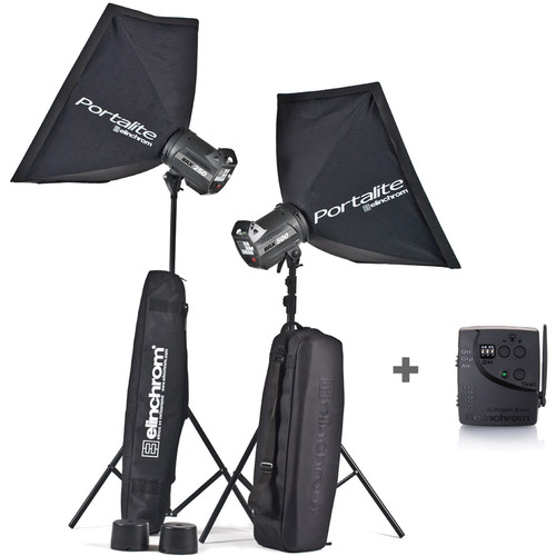 Elinchrom BRX 250 and BRX 500 Monolights To Go Kit