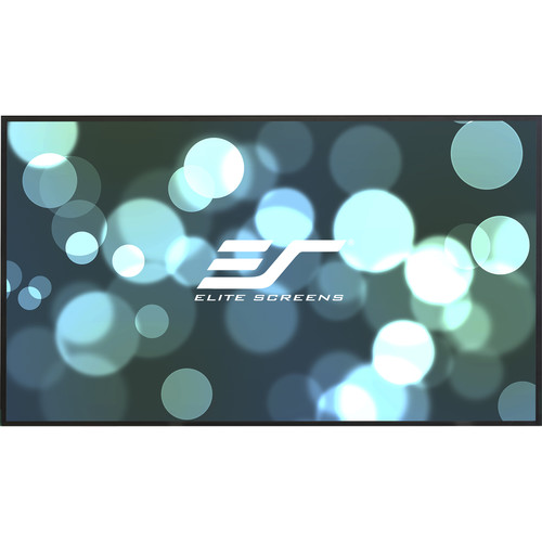 "Elite Screens Aeon 58.3 x 104.1"" 16:9 Fixed Frame Projection Screen with CineWhite Projection Surface"