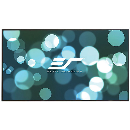 "Elite Screens Aeon 49.2 x 87.3"" 16:9 Fixed Frame Projection Screen with CineGrey Projection Surface"
