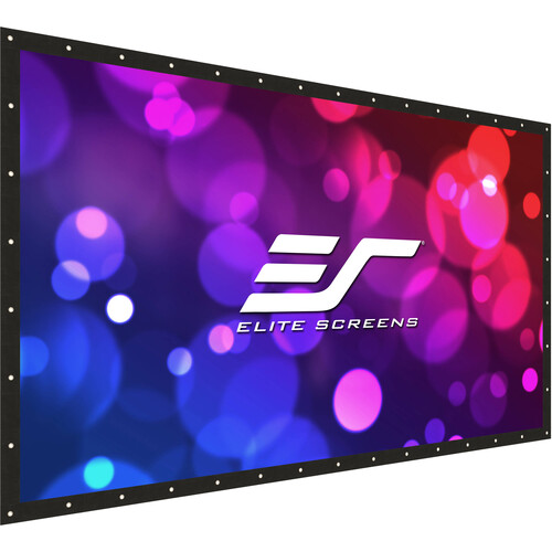 """Elite Screens Diy Pro FRONT/Rear 96""""/16:9  Front/Rear Projection Do-It-Yourself Indoor  Outdoor Projection Screen,"""