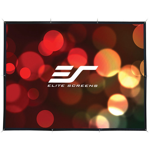 "Elite Screens DIY123RH1 DIY Pro 59.8 x 106.4"" Outdoor Projection Screen"