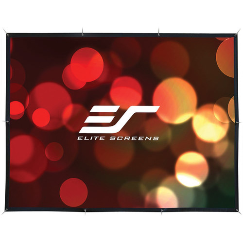 "Elite Screens DIY Pro DIY141RH1 69.9 x 122.8"" RearPro Projection Screen"