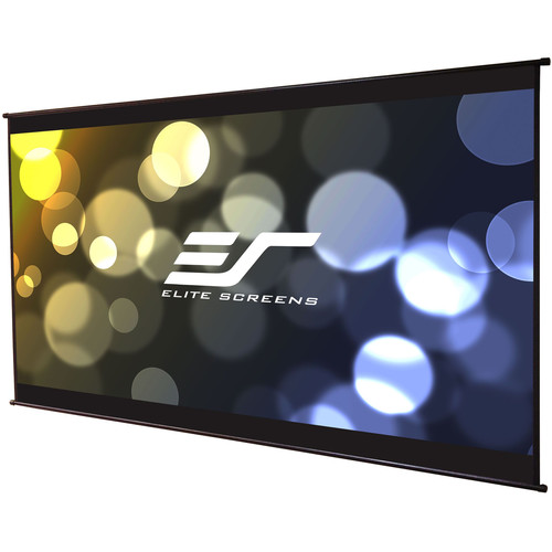 "Elite Screens DIY Wall 3 49 x 87"" Roll-Out Indoor/Outdoor Projection Screen"