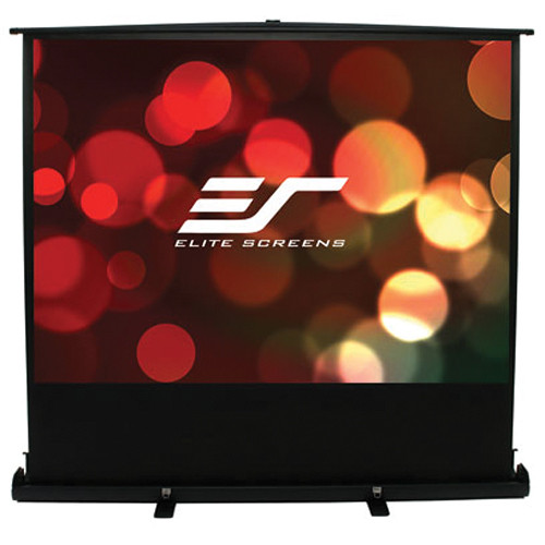 "Elite Screens F80NWX 80"" ezCinema Portable Pull-Up Screen (MaxWhite)"